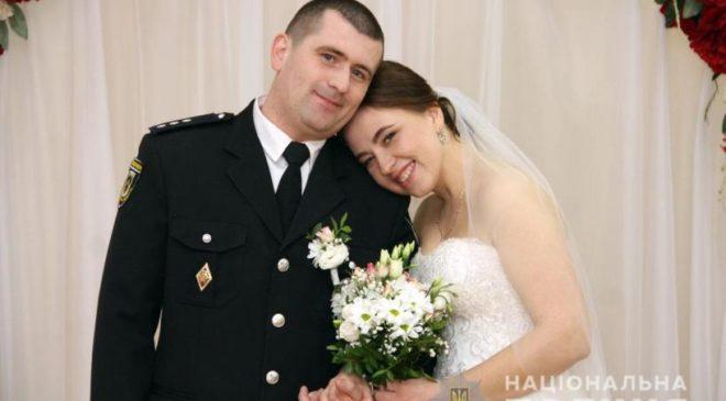 1000-ю парою в проекті «Шлюб за добу» стала родина поліцейського
