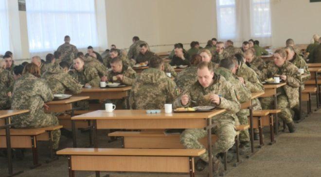 Військові харчуються за новими стандартами