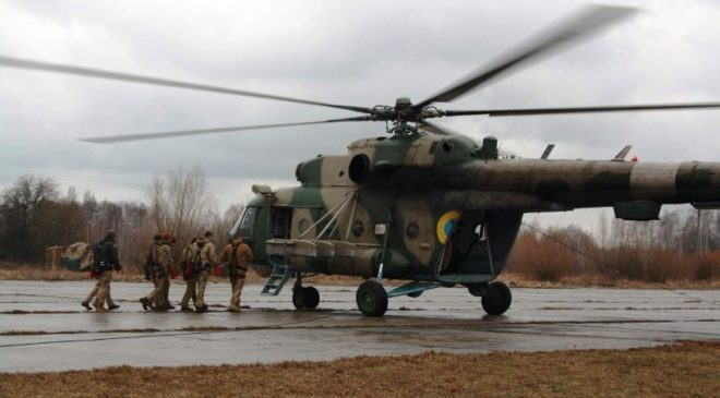 Офіцери-навідники десантувалися та евакуювалися