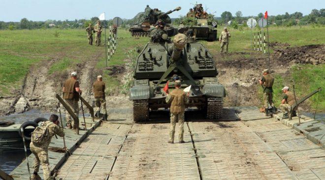 На Чернігівщині завершилися тактичні навчання з бойовою стрільбою