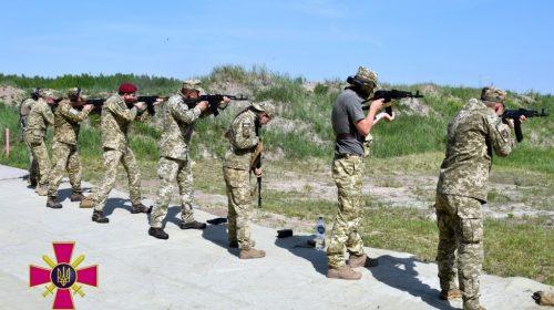 На Чернігівщині визначали кращих стрільців