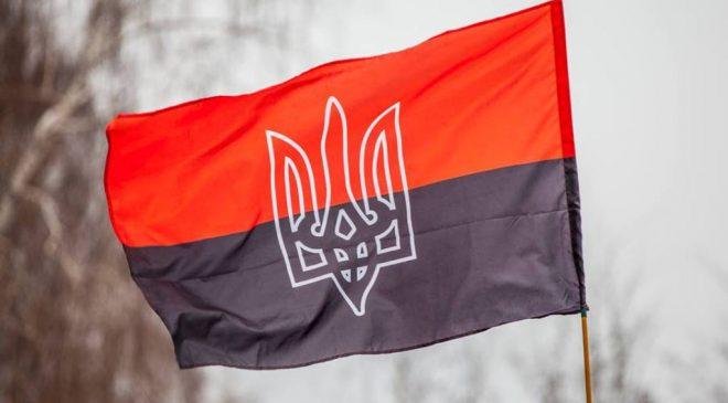 Червоно-чорний стяг встановив боєць із Чернігова перед окупантами на Сході
