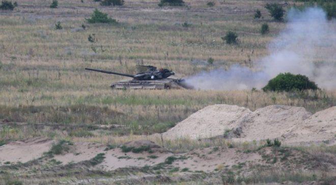 Військові механізованої роти відточували бойову майстерність
