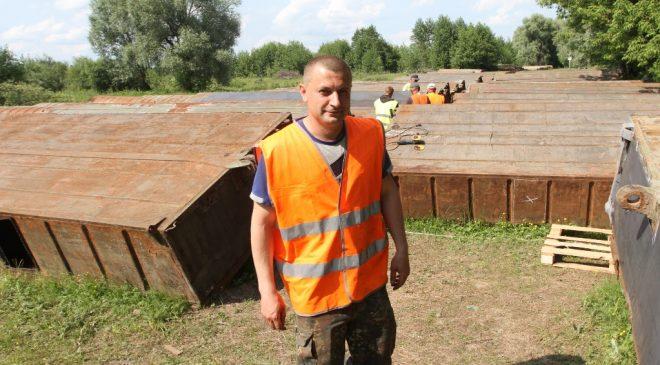 Як ремонтуватимуть понтонні мости в Новгороді-Сіверському