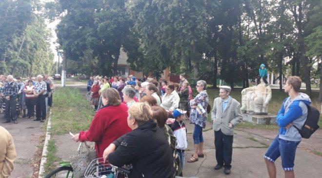 Сергій Андреєв обіцяє любеччанам підтримку у звільненні їхнього голови