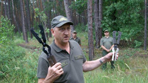 Нові методи з освітлення лісу впроваджують у військовому лісгоспі