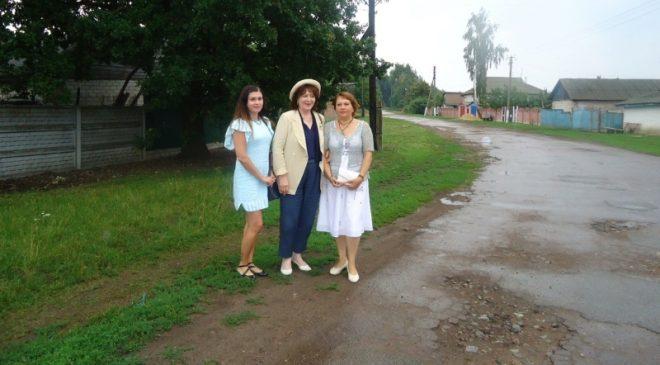 До Чернігова завітала із Франції донька старшини армії УНР