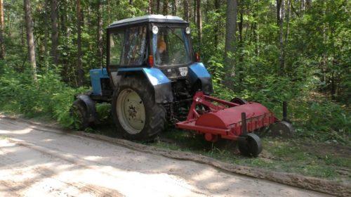 Лісові дороги на Чернігівщині роблять ширшими