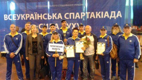 Сьоме місце зайняла команда з Чернігівщині на спартакіаді «Сила духу»