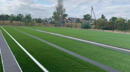 Сучасне міні-футбольне поле будують у Корюківській ОТГ