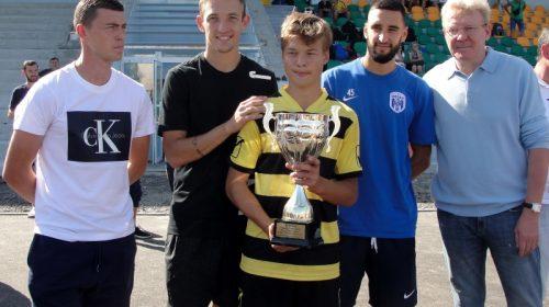 Міжнародний турнір з футболу відбувся у Чернігові