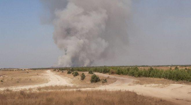 Небезпека з пожежами зберігатиметься до осінніх дощів