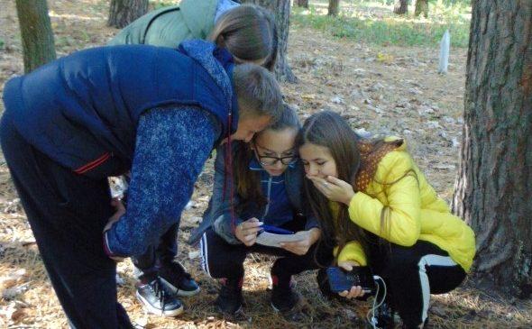 Чернігівські студенти провели екологічний квест у парку «Ялівщина»