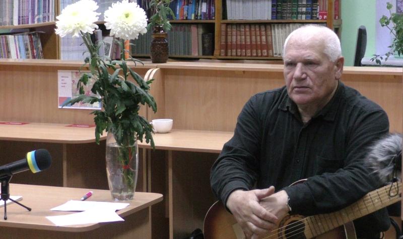 «Поезія музики. Музика поезії» – творчий вечір Петра Антоненка