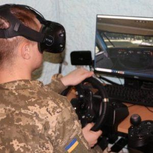 На Чернігівщині механіки-водії навчаються на сучасних тренажерах
