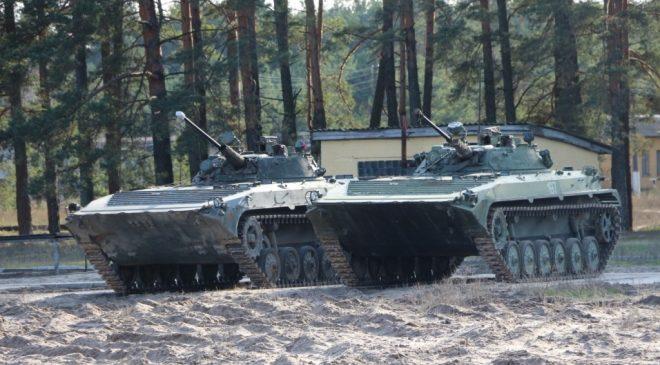 Стрільба з БМП – основа підготовки воїнів-піхотинців