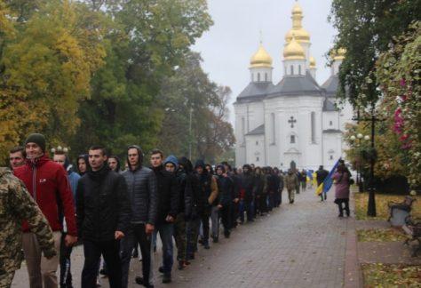 На 100 відсотків виконала Чернігівщина планове завдання з призову