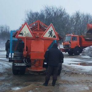 Автодорожні служби Чернігівщини працюють в посиленому режимі