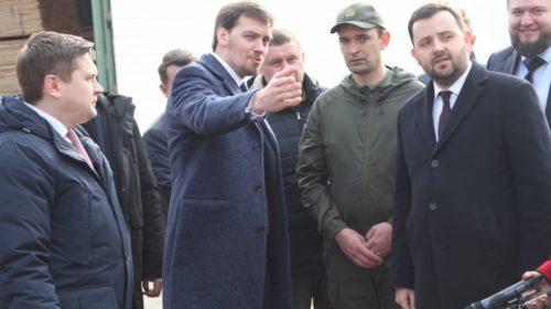 Олексій Гончарук зустрівся з лісівниками Придесення