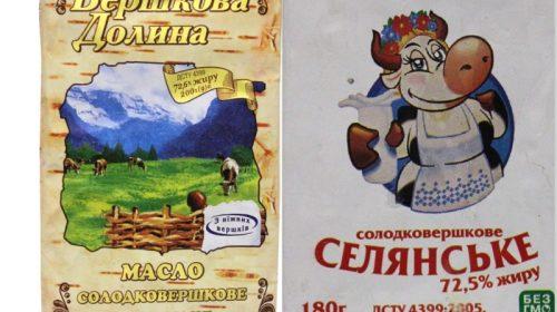 Із 29 перевірених марок вершкового масла, 20 зразків — фальсифікат