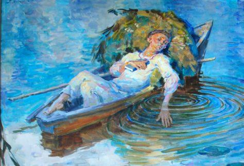Відомого художника з України Генрі Ягодкіна відзначили у Німеччині