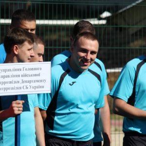 Силовики Чернігівського гарнізону почали змагатися на стадіоні