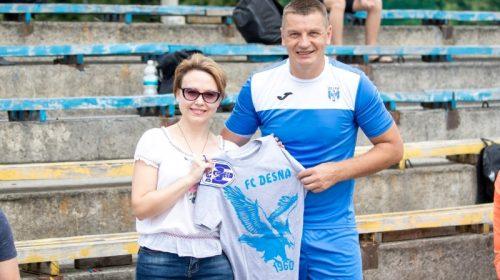 Футбольна «Десна» продовжила святкувати ювілей у районах області