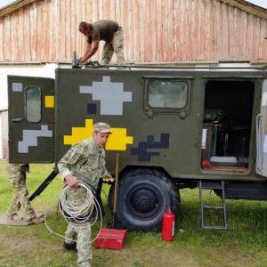 Підготовка військових зв'язківців