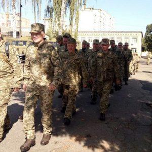 Чернігівщина: Резервісти провели навчальний збір