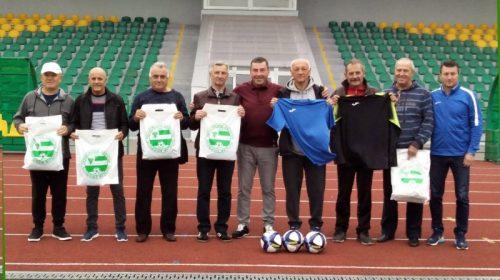 Ветерани «Десни» зустрілися з керівництвом футбольної асоціації