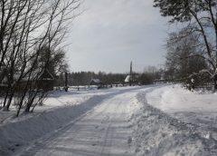 Дорогу в снігах пробивали лісівники Добрянщини. Відео