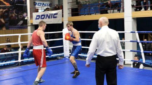 Один бій з чемпіонату Чернігівської області з боксу
