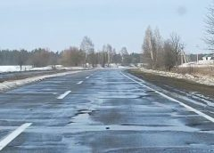 Дороги Чернігівщини: Зійшов сніг — зійшов асфальт!