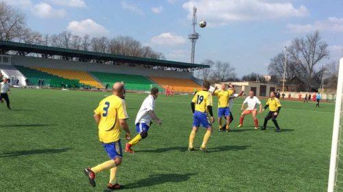 Завершилися змагання Кубку області з футболу серед ветеранів