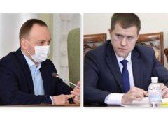 Мер Чернігова та керівник поліції з`ясовують «тупі» стосунки