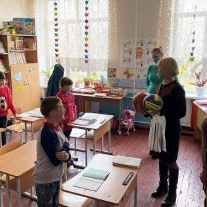Заклади освіти на Прилуччині відвідала Ніна Лемеш