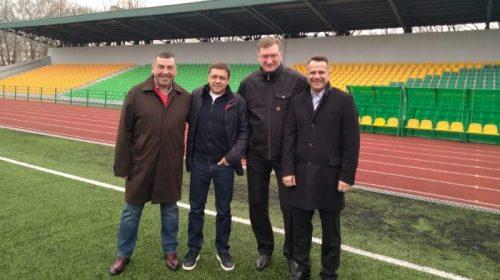 У Чернігів завітав Президент асоціації футзалу України Сергій Владико