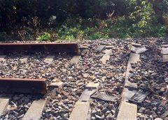 Сто метрів залізничної колії вирізали зловмисники на Семенівщині