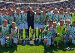 Футболісти з чернігівської «Юності» виграли чемпіонат України. Відео