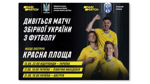 Матчі збірної України на Євро покажуть у центрі Чернігова