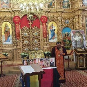 За шістьох загиблих Захисників України помолилися у Чернігові