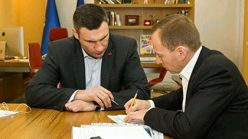 Кличко домовлятиметься про співпрацю з Атрошенком
